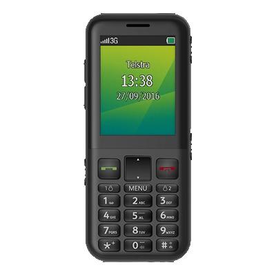 Telstra EasyCall 4 - Black - TPP $10 inc calls