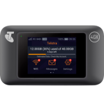 Telstra 4GX WiFi Pro (E5787PH) – Black