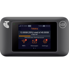 Telstra 4GX WiFi Pro (E5787PH) - Black